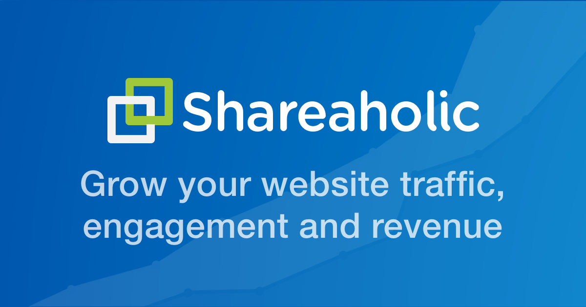 Social Share Buttons and Icons for websites - Shareaholic