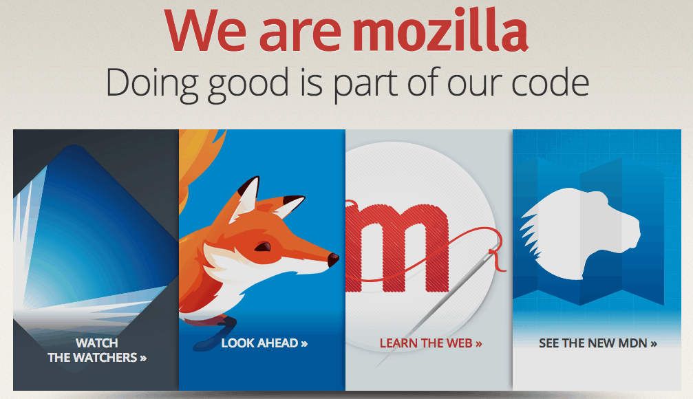 We are Mozilla