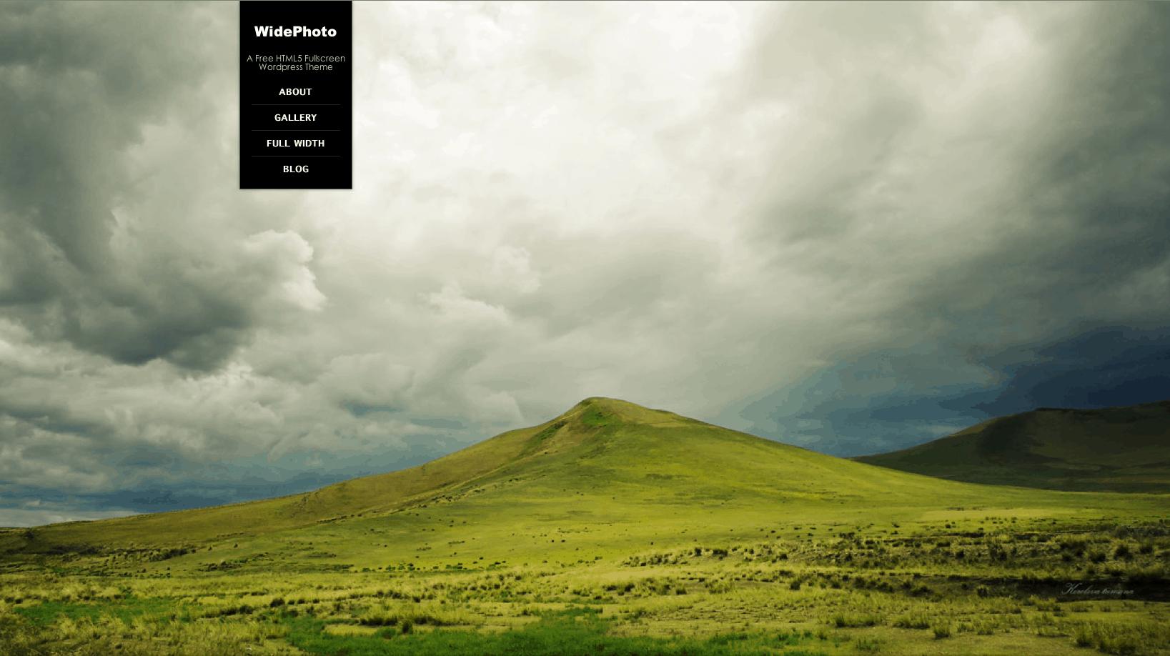 Best free wordpress themes widephotos