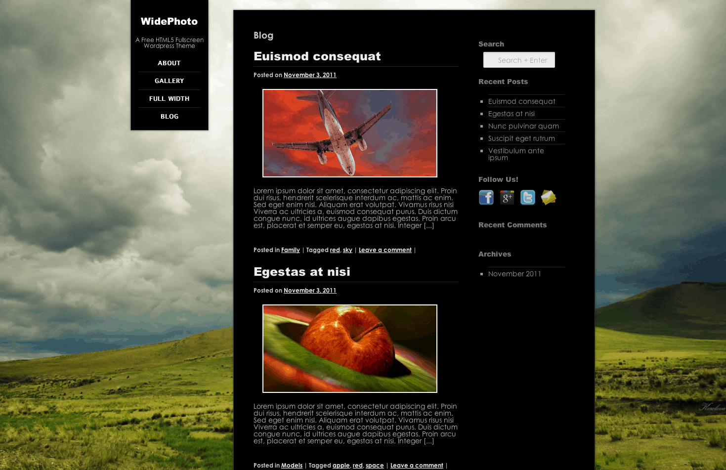widephoto blog