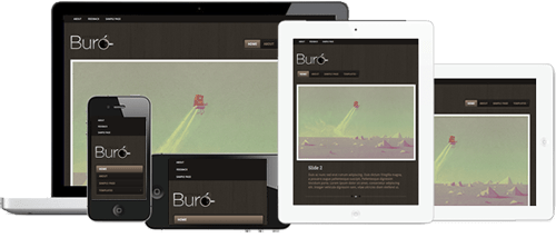 5 premium responsive wordpress themes worth exploring for Buro premium