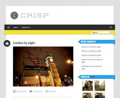 Crisp WordPress Theme