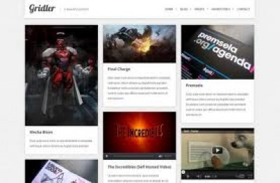Gridler WordPress theme
