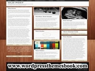 Old Post WordPress Theme