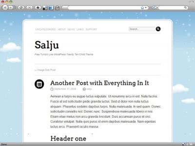 Salju WordPress Theme