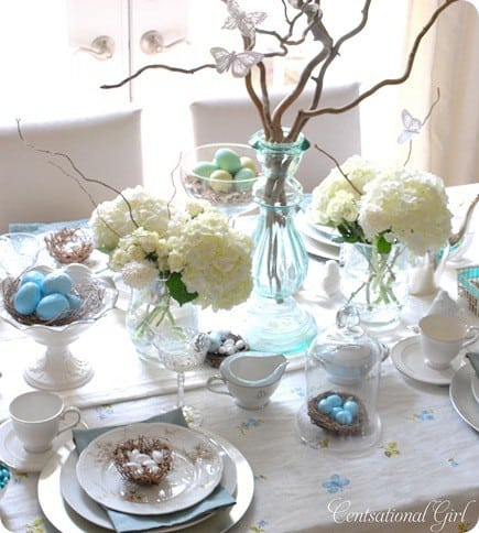 5 great pinterests to follow for easter ideas Simple table setting for lunch