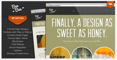 Bee Bee WordPress Theme