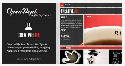 CreativeLife WordPress Theme