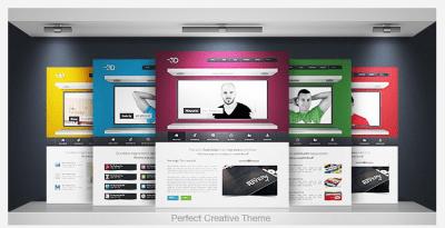 Idea 3D WordPress Theme