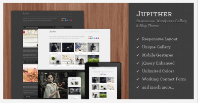 Jupither WordPress Theme
