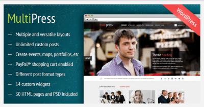 MultiPress WordPress Theme