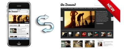 On Demand Mobile WordPress Theme