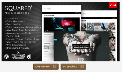 Squared WordPress Theme