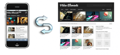 Video Elements WordPress Theme