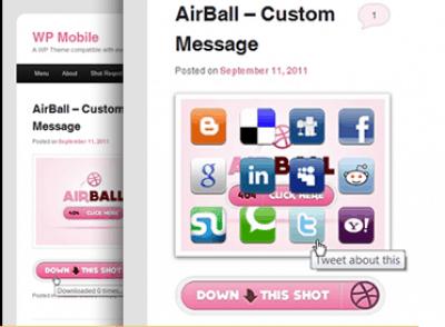 WP Mobile WordPress Theme