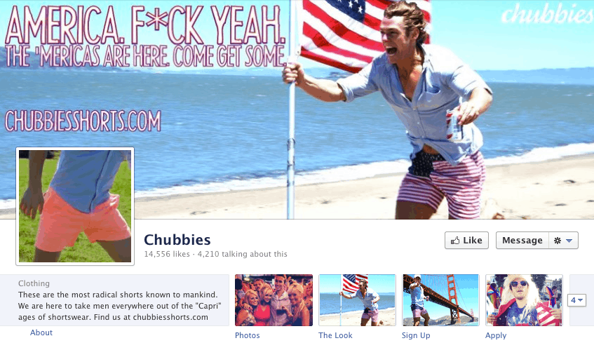 Chubbies Cover Photo