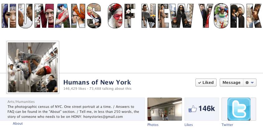 HONY Cover Photo