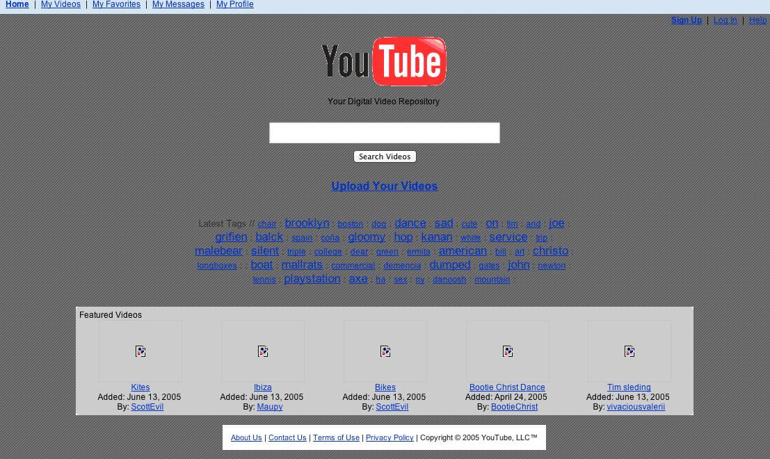 YouTube - June 2005