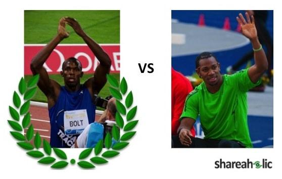 Bolt vs. Blake