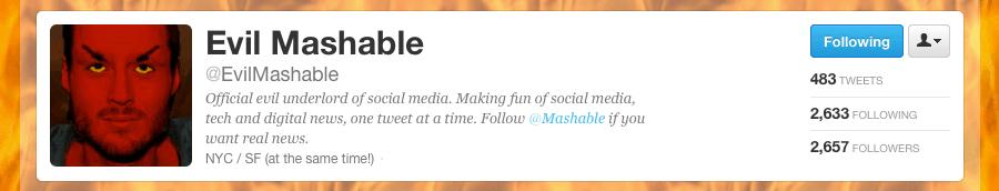 Evil Mashable