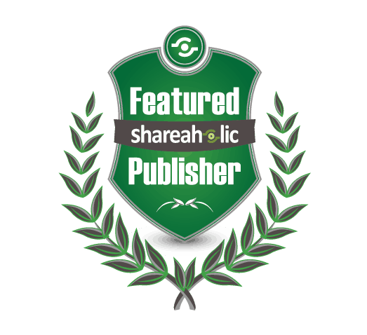Shareaholic Featured Blogger Badge