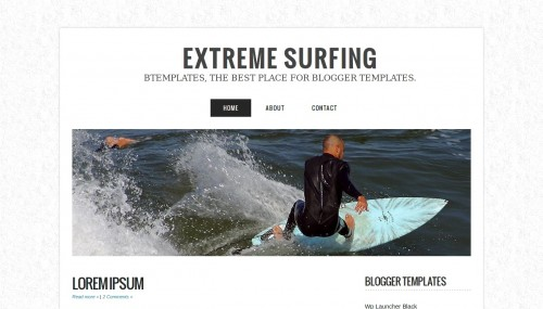 extreme-surfing-blogger-template