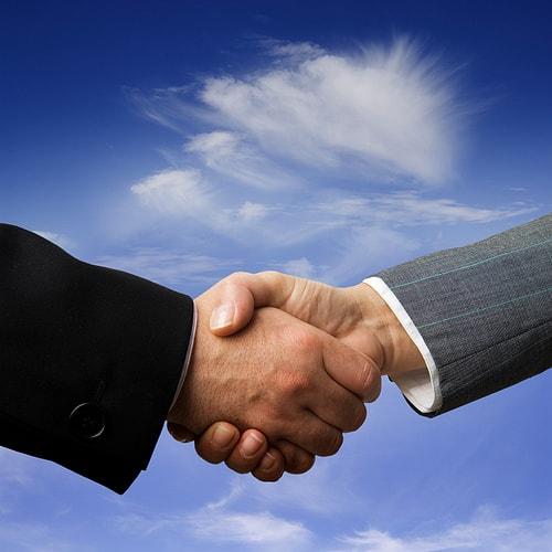Handshake image for networking