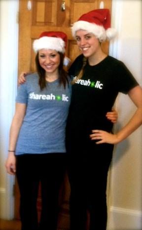 t shirt santa hat