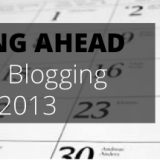 Blogging Dates 2013