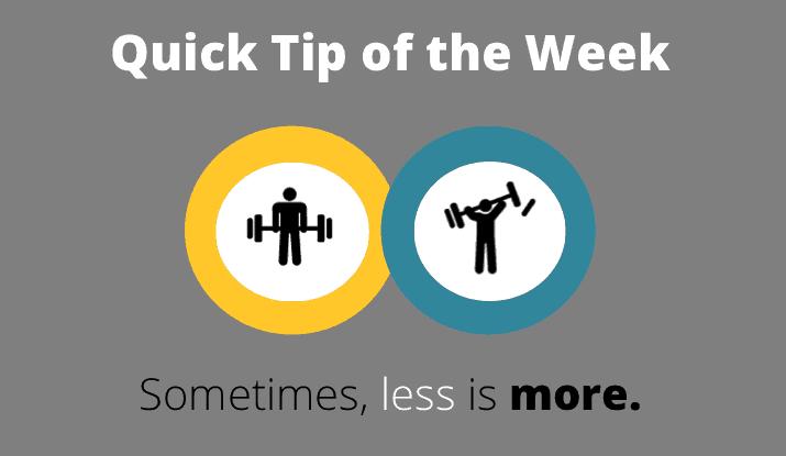 quick tip 4