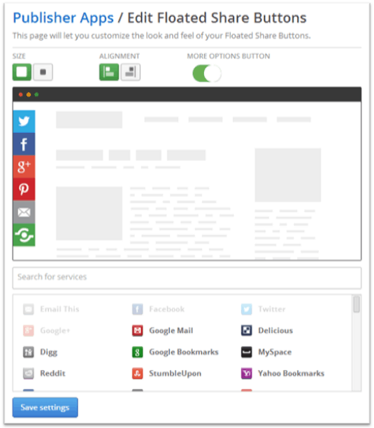 Our Share Buttons Float, Do Yours? | Content Marketing Blog