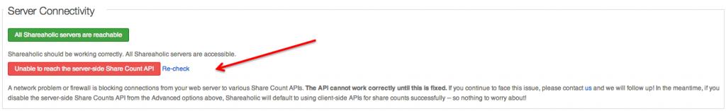 Shareaholic Server-Side Share Count API