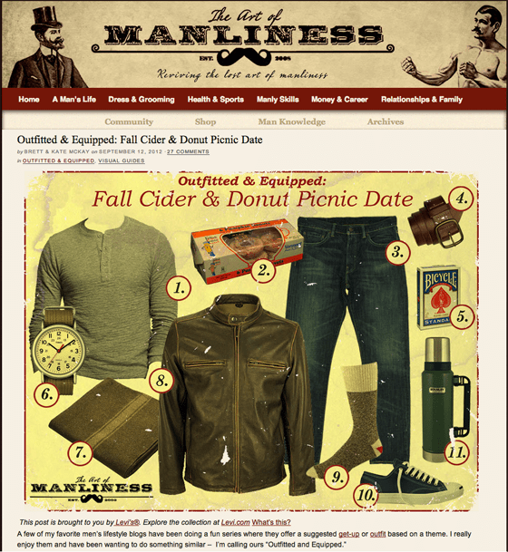 Art of Manliness Sponsored Content