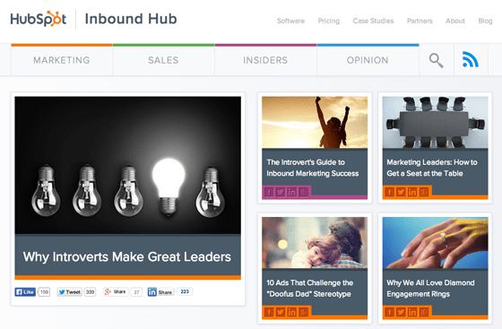 HubSpot Inbound Hub