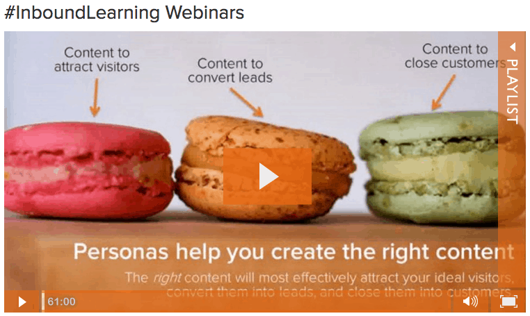 HubSpot Inbound Marketing Webinars