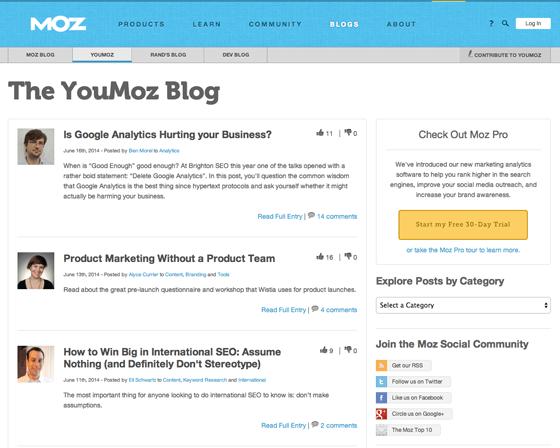 YouMoz blog
