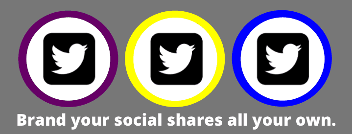 branding your social shares