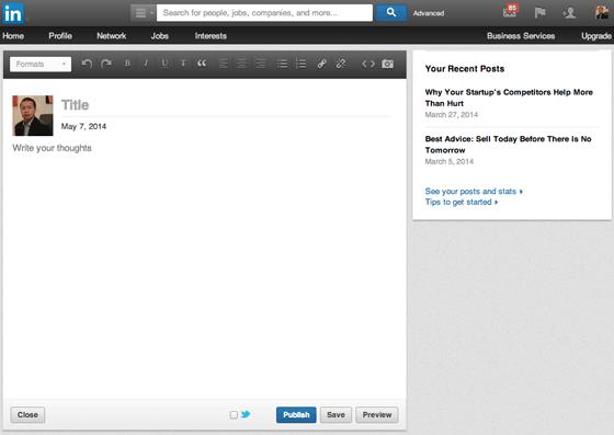 LinkedIn's CMS