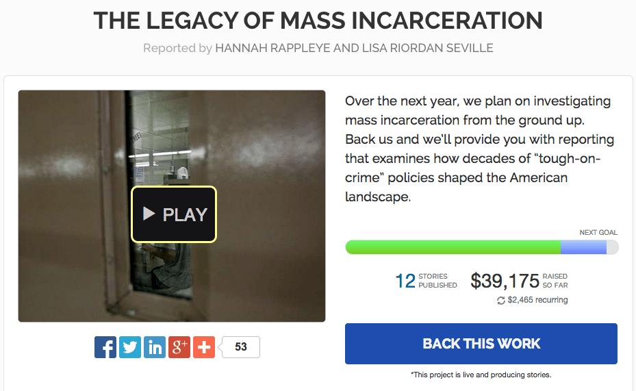 Beacon crowdfunding