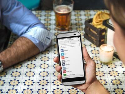 Mobile Share Social