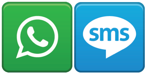 WhatsApp_SMS_Side_By_Side