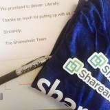 Shareaholic Swag Package Example