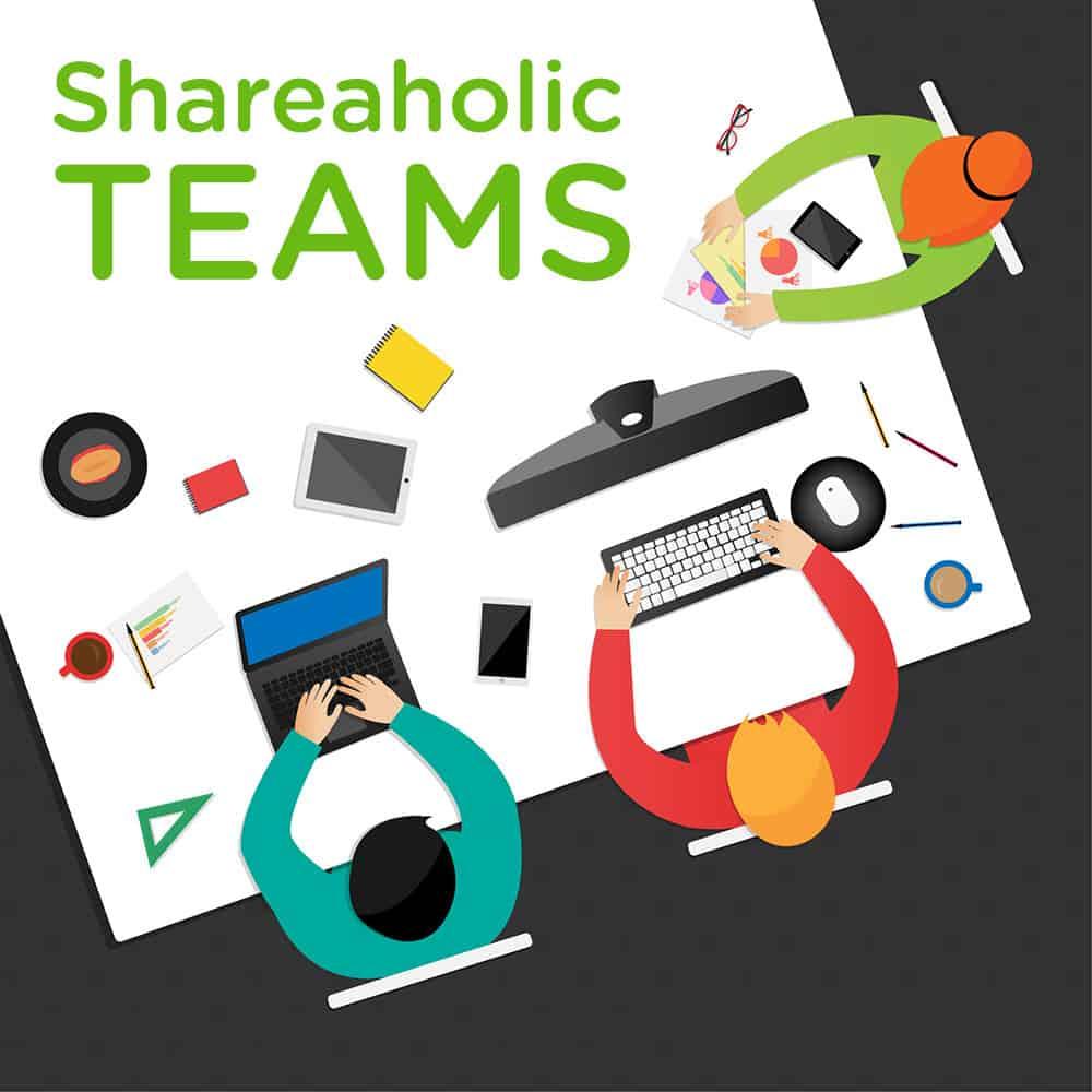 Shareaholic Teams