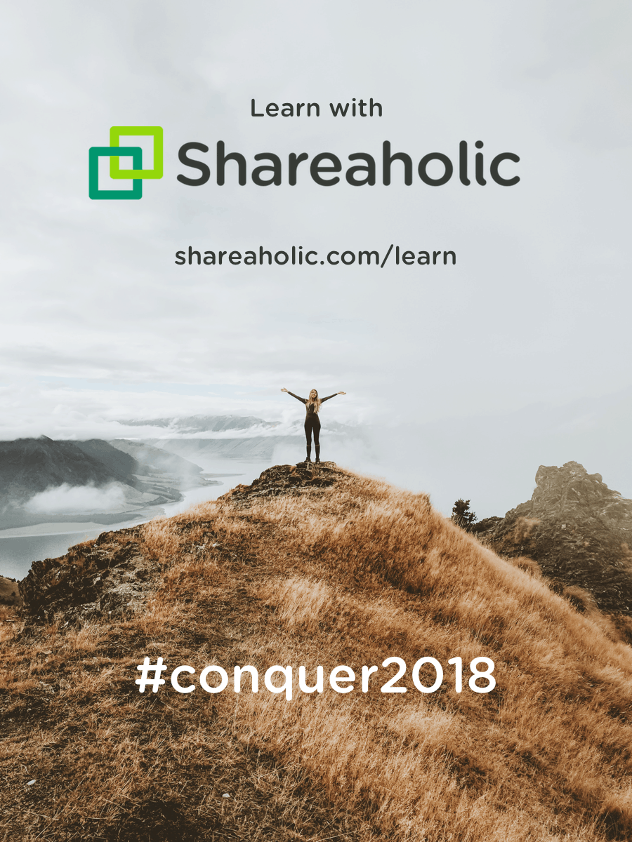 Learn with Shareaholic at https://shareaholic.com/learn